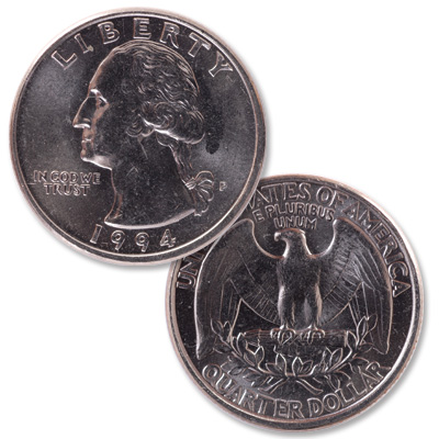 Image for 1994 Washington Quarter from Littleton Coin Company