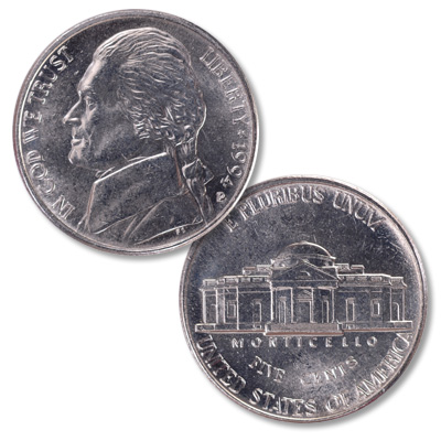 Image for 1994-P Jefferson Nickel from Littleton Coin Company