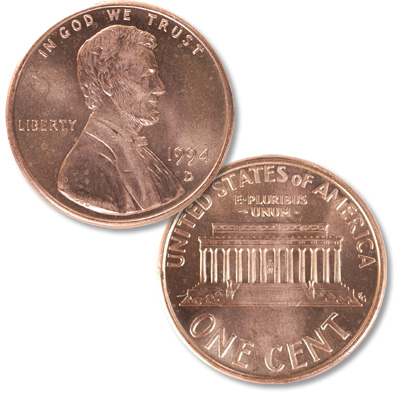 Image for 1994-D Lincoln Head Cent from Littleton Coin Company