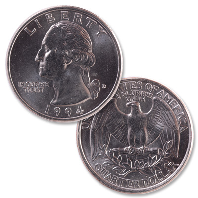 Image for 1994-D Washington Quarter from Littleton Coin Company