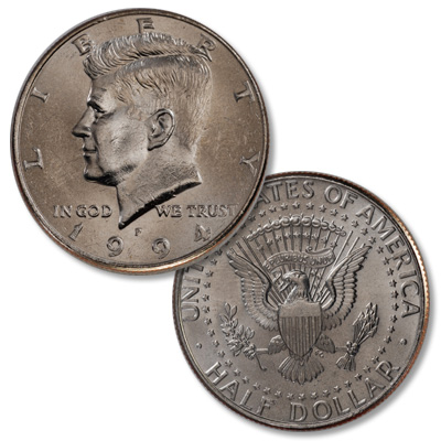 Image for 1994-P Kennedy Half Dollar from Littleton Coin Company