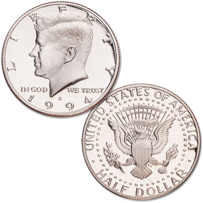 Image for 1994-S Clad Kennedy Half Dollar from Littleton Coin Company