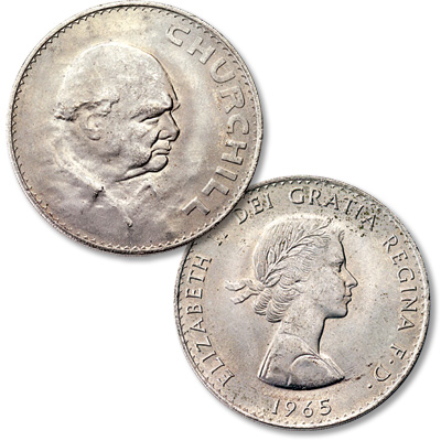 Image for 1965 Great Britain Churchill Crown from Littleton Coin Company