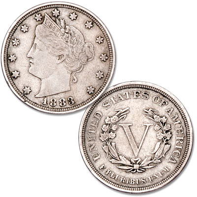 Image for 1883 Liberty Head Nickel, No Cents from Littleton Coin Company
