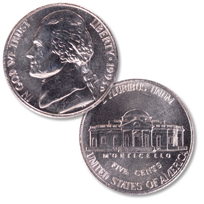 Image for 1995-D Jefferson Nickel from Littleton Coin Company