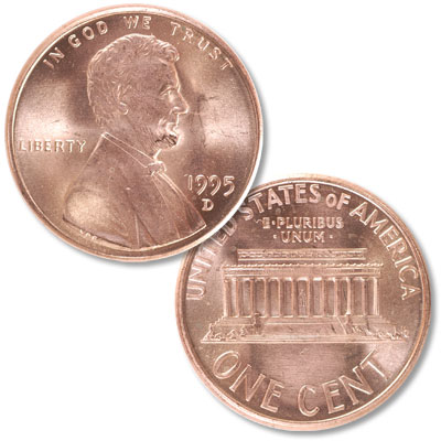 Image for 1995-D Lincoln Head Cent from Littleton Coin Company