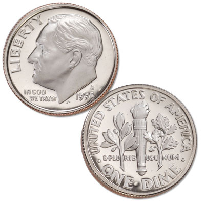 Image for 1995-S Roosevelt Dime from Littleton Coin Company