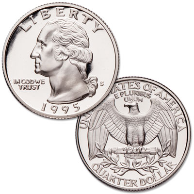 Image for 1995-S Washington Quarter from Littleton Coin Company