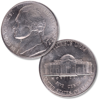 Image for 1995-P Jefferson Nickel from Littleton Coin Company