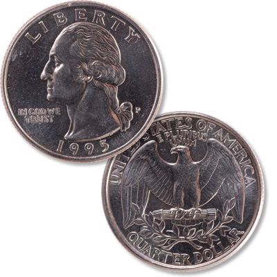 Image for 1995 Washington Quarter from Littleton Coin Company