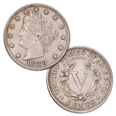Image for 1888 Liberty Head Nickel from Littleton Coin Company