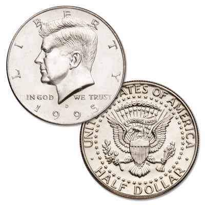 Image for 1995-D Kennedy Half Dollar from Littleton Coin Company