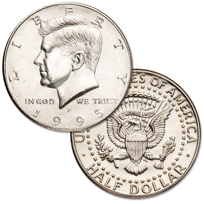 Image for 1995-P Kennedy Half Dollar from Littleton Coin Company