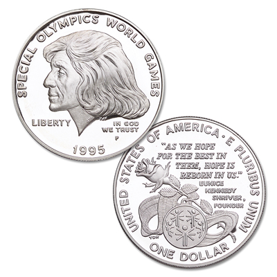 Image for 1995-P Special Olympics World Games Silver Dollar from Littleton Coin Company