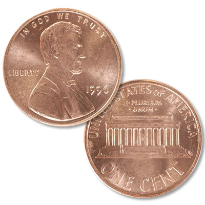 Image for 1996 Lincoln Head Cent from Littleton Coin Company