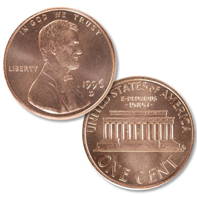 Image for 1996-D Lincoln Head Cent from Littleton Coin Company