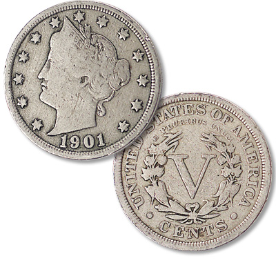 Image for 1901 Liberty Head Nickel from Littleton Coin Company