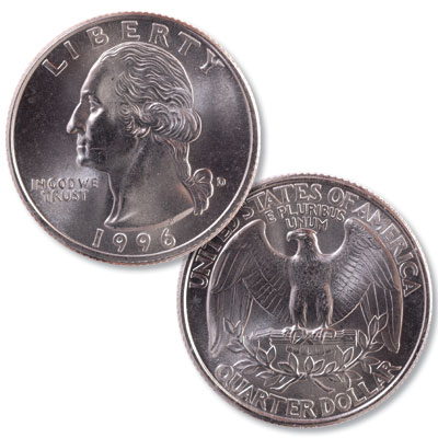 Image for 1996-D Washington Quarter from Littleton Coin Company