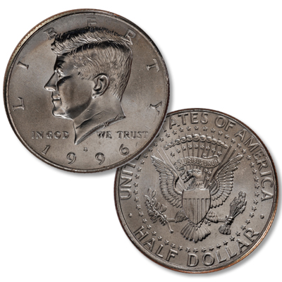 Image for 1996-D Kennedy Half Dollar from Littleton Coin Company