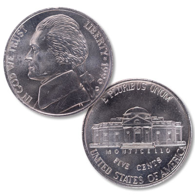 Image for 1996-D Jefferson Nickel from Littleton Coin Company