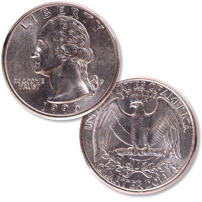 Image for 1996 Washington Quarter from Littleton Coin Company