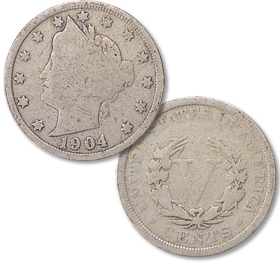 Image for 1904 Liberty Head Nickel from Littleton Coin Company