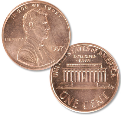 Image for 1997 Lincoln Head Cent from Littleton Coin Company