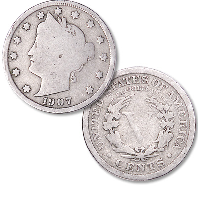 Image for 1907 Liberty Head Nickel from Littleton Coin Company