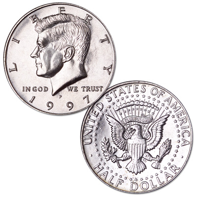 Image for 1997-P Kennedy Half Dollar from Littleton Coin Company