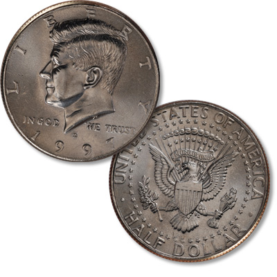Image for 1997-D Kennedy Half Dollar from Littleton Coin Company