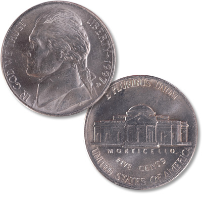 Image for 1997-P Jefferson Nickel from Littleton Coin Company