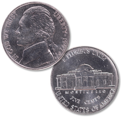 Image for 1997-D Jefferson Nickel from Littleton Coin Company