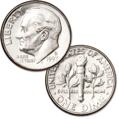 Image for 1997-D Roosevelt Dime from Littleton Coin Company