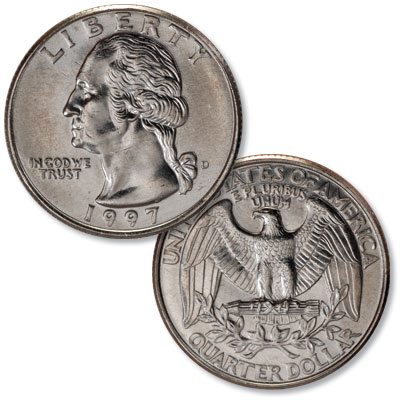 Image for 1997-D Washington Quarter from Littleton Coin Company