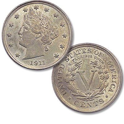 Image for 1911 Liberty Head Nickel, Proof from Littleton Coin Company