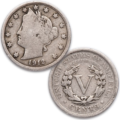 Image for 1912 Liberty Head Nickel from Littleton Coin Company