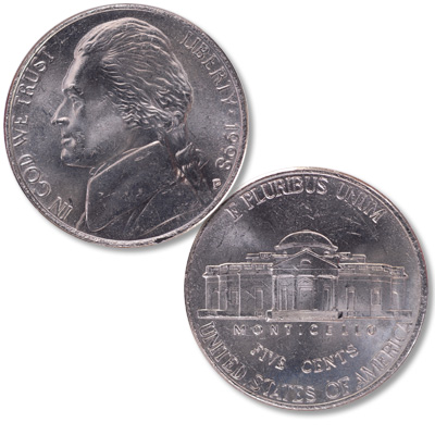 Image for 1998-P Jefferson Nickel from Littleton Coin Company