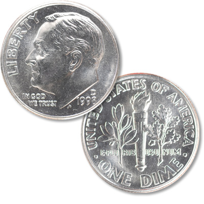Image for 1998-D Roosevelt Dime from Littleton Coin Company
