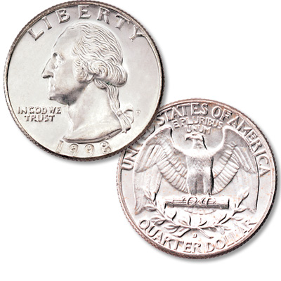 Image for 1998 Washington Quarter from Littleton Coin Company