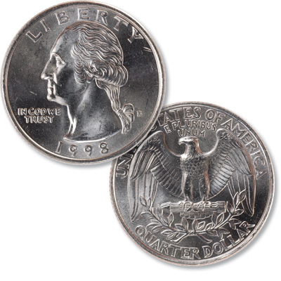 Image for 1998-D Washington Quarter from Littleton Coin Company