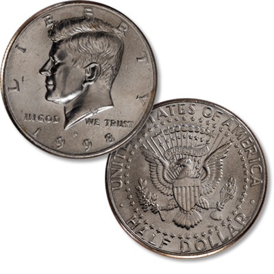 Image for 1998-P Kennedy Half Dollar from Littleton Coin Company