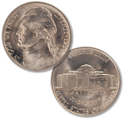 Image for 1938-D Jefferson Nickel from Littleton Coin Company