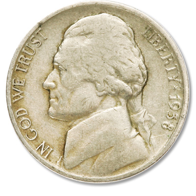Image for 1938-S Jefferson Nickel from Littleton Coin Company