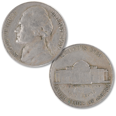 Image for 1939-S Jefferson Nickel from Littleton Coin Company