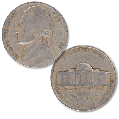 Image for 1940-D Jefferson Nickel from Littleton Coin Company