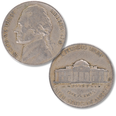Image for 1941-D Jefferson Nickel from Littleton Coin Company