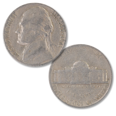Image for 1941-S Jefferson Nickel from Littleton Coin Company