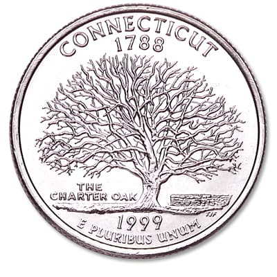 Image for 1999-P Connecticut Statehood Quarter from Littleton Coin Company