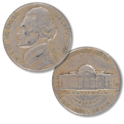 Image for 1942-D Jefferson Nickel from Littleton Coin Company