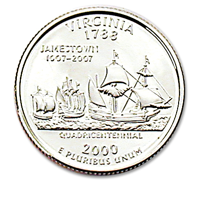 Image for 2000-S Virginia Statehood Quarter, Choice Proof, PR63 from Littleton Coin Company